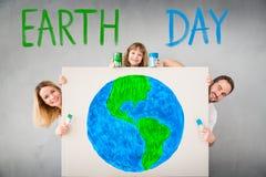 Feiertags-Tag der Erde und Frühlingserneuerungskonzept Stockfoto