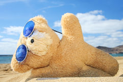 Feiertags-Teddybär Stockfoto