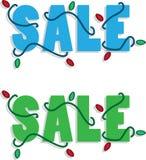 Feiertags-Verkaufs-Text Lizenzfreies Stockbild
