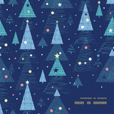 Feiertags-Weihnachtsbaumrahmen des Vektors abstrakter Lizenzfreies Stockbild