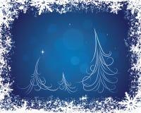 Feiertags-Winter-Hintergrund Stockbild