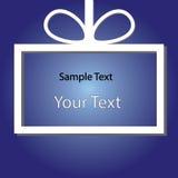 Feiertagsapplikations-Blauhintergrund raster Lizenzfreie Stockfotografie