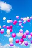Feiertagsballone Stockbilder