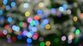 Feiertagsbeleuchtung, Karnevalsverschiedenartigkeit, stock footage