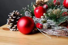 Feiertagsdekoration Special für frohe Weihnachten Lizenzfreie Stockfotos