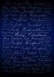 Feiertagshintergrund der frohen Weihnachten stock abbildung