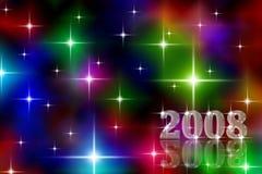 Feiertagshintergrund des neuen Jahres Stockfoto