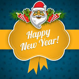Feiertagshintergrund des neuen Jahres Stockbild