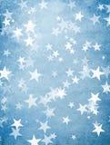 Feiertagshintergrund mit Sternen Stockbilder