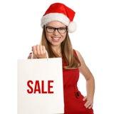Feiertagskäufer Lizenzfreie Stockfotos
