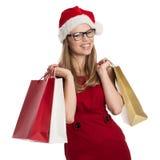 Feiertagskäufer Lizenzfreies Stockfoto