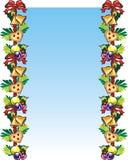Feiertagskarte Stockbild