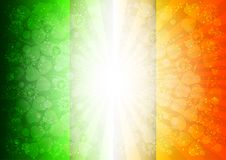 Feiertagskarte an St- Patrick` s Tag Lizenzfreie Stockbilder