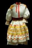 Feiertagskleidung der Frau Stockbild