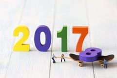 Feiertagskonzept des neuen Jahres Lizenzfreie Stockbilder