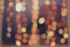 Feiertagslicht, schöne glänzende Scheine Lizenzfreie Stockfotografie