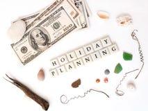 Feiertagsplanung Lizenzfreie Stockfotos