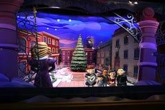 Feiertagsspeicherbildschirmanzeige lizenzfreie stockbilder