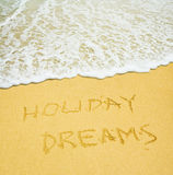 Feiertagsträume Stockfotografie