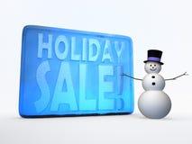 Feiertagsverkaufsillustration lizenzfreie stockbilder