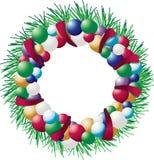 FeiertagWreath Lizenzfreies Stockbild