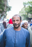 Feierweise Rifai Sufi Ägypten lizenzfreies stockfoto