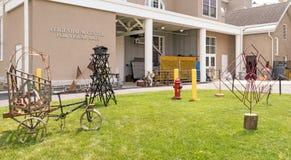 Feigenbaumcentrum voor Visuele Kunsten, Unie Universiteit Royalty-vrije Stock Afbeeldingen