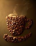 Feijão de café Fotografia de Stock Royalty Free