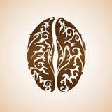 Feijão de café decorativo decorativo Imagens de Stock Royalty Free