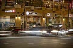 Feijão de Huntington na noite Imagem de Stock Royalty Free
