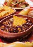 Feijão mexicano do pimentão foto de stock
