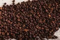 Feijão roasted, textura agradável de Coffe Foto de Stock