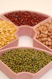 Feijão verde e outras leguminosa Imagem de Stock