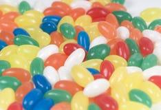 Feijões coloridos do açúcar Imagens de Stock Royalty Free