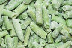 Feijões de aspargo congelados Imagens de Stock Royalty Free
