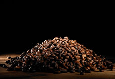 Feijões de café imagem de stock royalty free