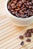 Feijões de café. fotografia de stock royalty free