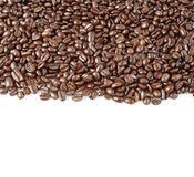Feijões de café Fotografia de Stock