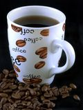 Feijões de café 7 fotos de stock royalty free