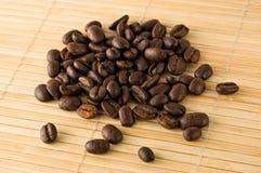 Feijões de café. Imagem de Stock