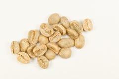 Feijões de café da goma-arábica Fotos de Stock Royalty Free