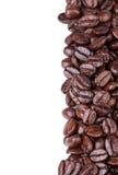 Feijões de café de Brown Foto de Stock Royalty Free