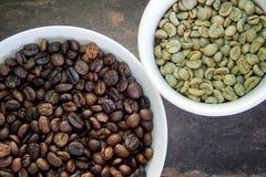 Feijões de café frescos Fotografia de Stock