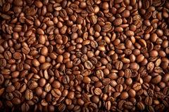 Feijões de café marrons Roasted Foto de Stock