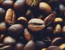 Feijões de café perfumados Fotos de Stock Royalty Free