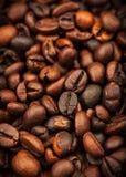 Feijões de café Roasted Fotos de Stock