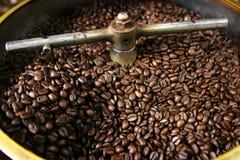 Feijões de café Roasted Imagens de Stock