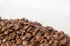 Feijões de café Roasted Foto de Stock