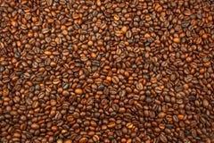 Feijões de café, textura Foto de Stock Royalty Free