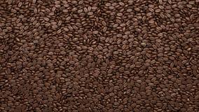 Feijões de café textura ou fundo Imagem de Stock